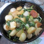 Miso-Buttered Turnips and Greens