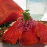 Salt-Cured Salmon With Aquavit and Dill