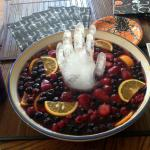 "Halloween ""Severed Hand"" Punch"