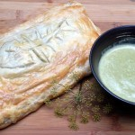 Salmon Wellington with Sorrel Sauce