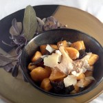 Sweet Potato Gnocchi with Oyster Mushrooms and Crispy Sage