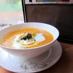 Roasted Squash Soup with Harvest Gremolata