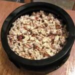 Spiced Pumpkin Seed Caramel Popcorn