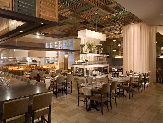 Ella dining room (California). Via their website.
