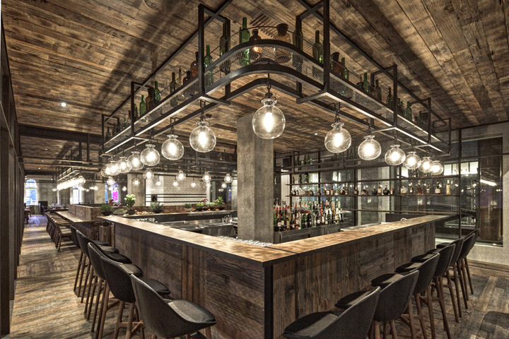 lighting ideas for restaurant dining room with Industrial Rustic on Ho Chunk Grill furthermore Decor Ideas Indian Restaurants moreover Tabledecor moreover Luxury Modern Living Room in addition Makeup Vanity Made Reclaimed Wooden Pallets.