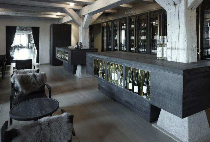 Noma restaurant dining room by Space (Denmark). Via the Retail Design Blog