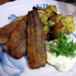 Pan-Fried Herring with Roasted Potatoes