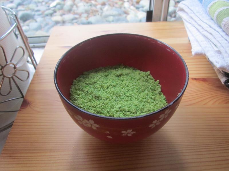 Ground Wasabi Peas