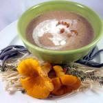 Chanterelle Mushroom Soup