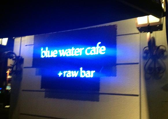 Blue Water Cafe 1