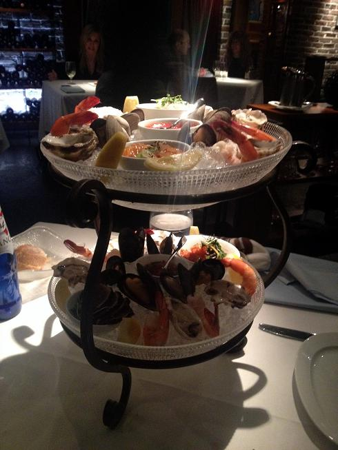 Blue Water Cafe 7 - Seafood Tower