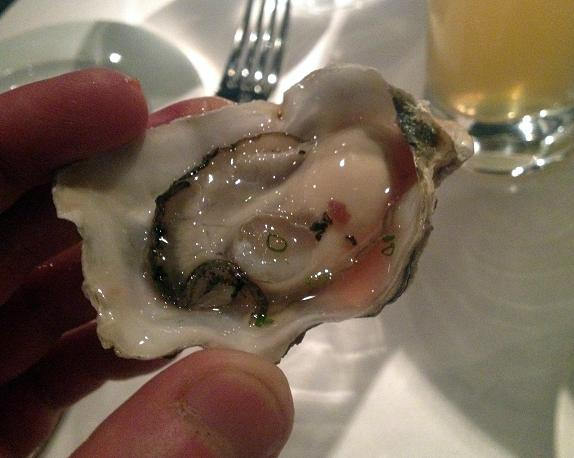 Blue Water Cafe 8  - Perfect Oyster