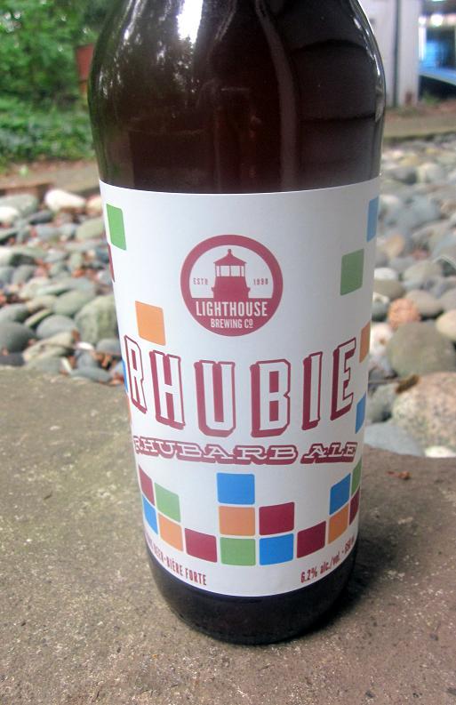 Rhubie Rhubarb Ale