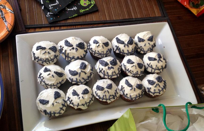 Check out Chiara's Jack Skelington Cupcakes! So Badass!