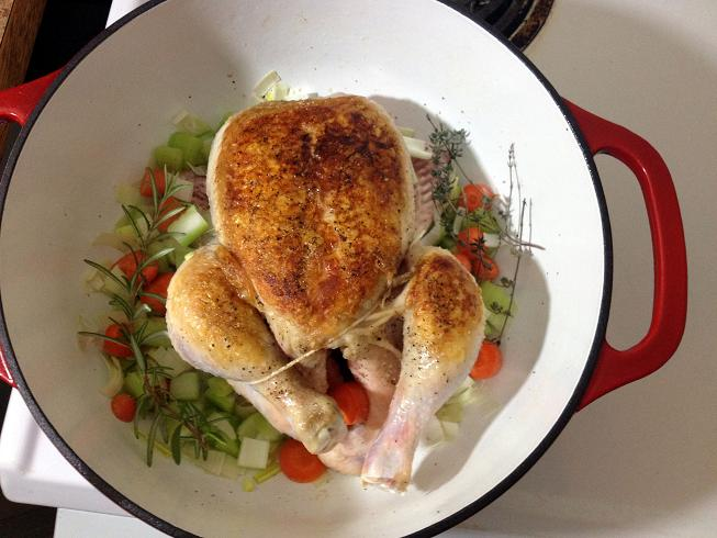 Chicken In A Pot 3