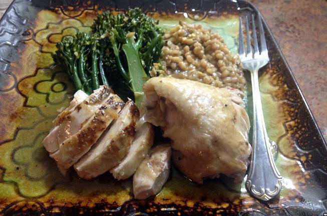 Chicken in A Pot 4