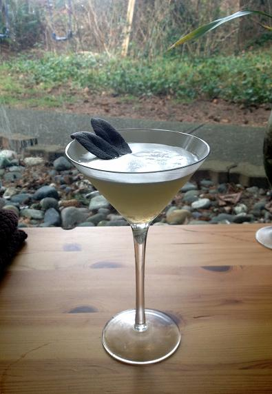Lady Sage Cocktail