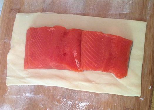 Salmon Wellie 1