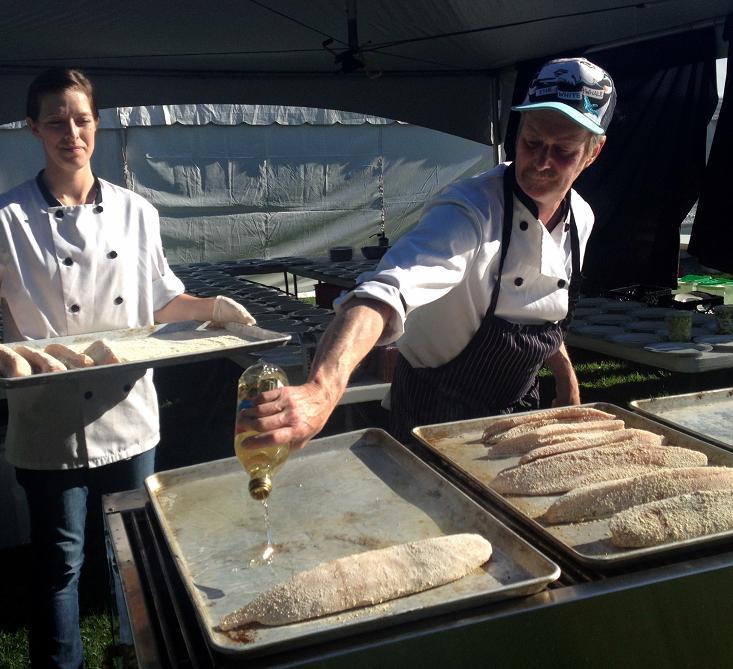 Searing Tuna