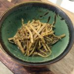 Sesame-Pickled Burdock Root