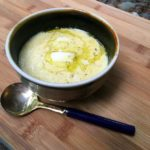 Sweet Corn and Parmesan Soup